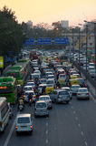 Traffic in New Delhi Royalty Free Stock Images