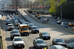 Traffic in New York Royalty Free Stock Images
