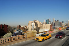 Traffic in New York City Stock Image