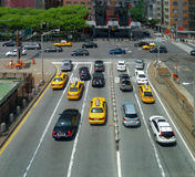 Traffic in New York City Stock Photo