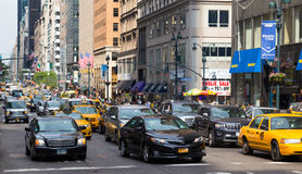 Traffic in New York City Stock Images