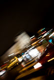 Traffic at Night Royalty Free Stock Images