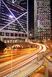 Traffic night Stock Image