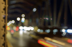 Traffic at night. Stock Images