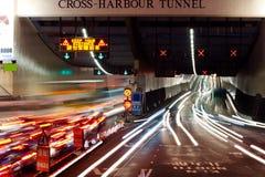 Traffic at nightfall Royalty Free Stock Images