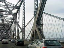 Traffic on Oakland Bay Bridge Royalty Free Stock Photography