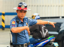 Traffic Officer Royalty Free Stock Images