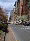Traffic Park Avenue New York USA Stock Photography
