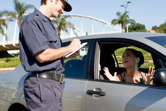 Traffic police Stock Images