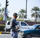 Traffic Police Officer Stock Image