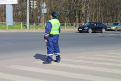 The traffic police officer Royalty Free Stock Image