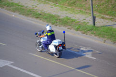 Traffic policeman Royalty Free Stock Photo