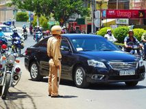 Traffic policeman 002 Stock Photography