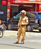 Traffic policeman 001 Stock Photos