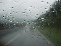 Traffic rain Royalty Free Stock Image