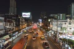 Ratchadamri Road in Bangkok Royalty Free Stock Photography