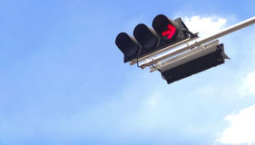 Traffic red light Royalty Free Stock Photography