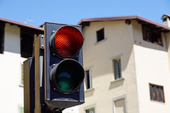 Traffic red light Royalty Free Stock Photo