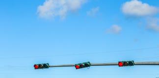 Traffic regulation in america Stock Image