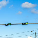 Traffic regulation in america Royalty Free Stock Photography