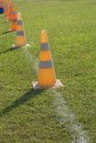 Traffic road cone pylon Royalty Free Stock Photo
