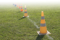Traffic road cone pylon Stock Photography