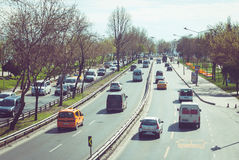 Traffic road Royalty Free Stock Images