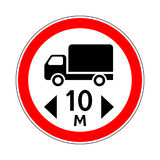 Traffic-road sign Stock Photos