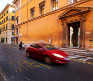 Traffic in Rome Royalty Free Stock Images