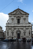 Traffic Rome Piazza Vodoni Royalty Free Stock Photography