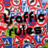 Traffic rules Royalty Free Stock Photo