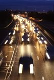 Traffic in rush hour Stock Images