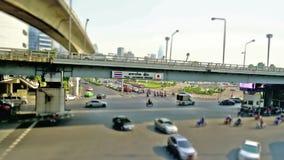 Sala Daeng Junction in Bangkok.. stock video footage