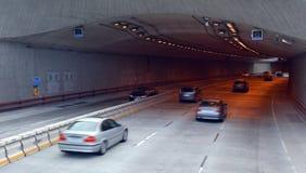 Traffic in San Francisco parkway tunnels San Francisco - California royalty free stock photos