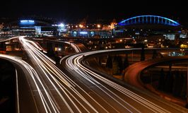 Traffic In Seattle Royalty Free Stock Photography