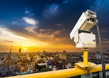 Traffic security camera Stock Images