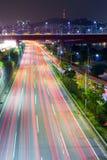 Traffic in Seoul Stock Photos