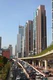 Traffic in Shanghai Stock Image