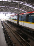 Traffic: Shanghai Rail Transit Royalty Free Stock Images