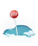Traffic Sign – Stop Royalty Free Stock Images