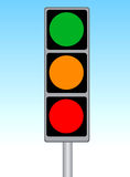 Traffic sign 01 Royalty Free Stock Photography