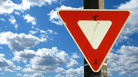 Traffic sign royalty free stock photo