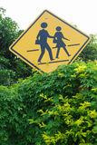 Traffic Sign. North of Thailand Royalty Free Stock Photos