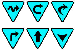 Traffic sign 2 Royalty Free Stock Photos