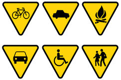 Traffic sign 3 Royalty Free Stock Photos