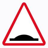 Traffic sign. Bumps Stock Illustration