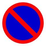 Traffic sign. No parking Royalty Free Illustration
