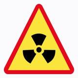 Traffic sign. Radiation sign Vector Illustration