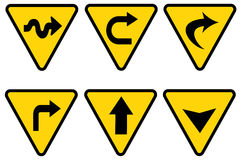 Traffic sign royalty free illustration