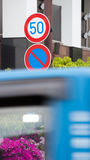 Traffic Sign.  Royalty Free Stock Images